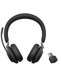 Jabra Evolve2 65 MS Stereo, **USB-C**, Black