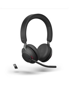 Jabra Evolve2 65 MS Stereo, USB-A, Black
