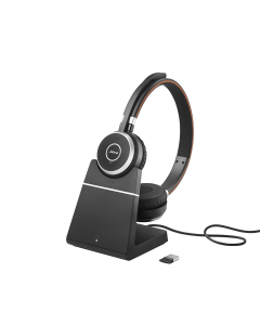Jabra Evolve 65 UC Stereo Headset + Charging Stand