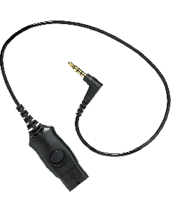 Plantronics/Poly MO300 QD To 3.5mm Cable For Mobile Phones