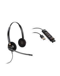 Plantronics/Poly HW520D Digital Corded Headset And DA90 Cable