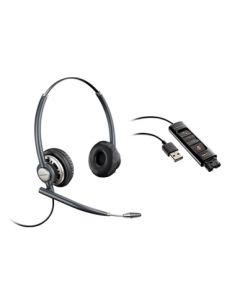 Plantronics/Poly HW720D Digital Corded Headset + DA 90 Cable