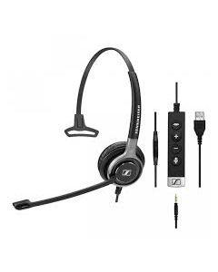EPOS|Sennheiser IMPACT SC 635 Mono USB and 3.5mm Corded Headset