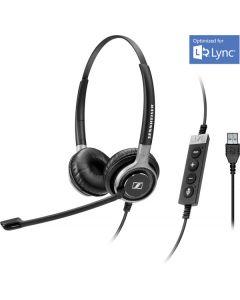 EPOS|Sennheiser IMPACT SC 660 USB Corded Headset - Lync & Skype for Business