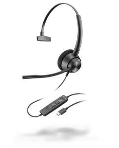 Plantronics/POLY EncorePro EP310 **USB-C** Corded Headset