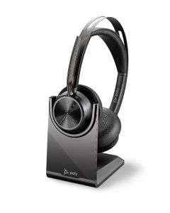 Plantronics/Poly Voyager Focus 2 UC with Charge Stand, **USB-C**