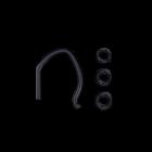 EPOS | Sennheiser EH 20  Flexible Earhook With Sleeve + Earbuds